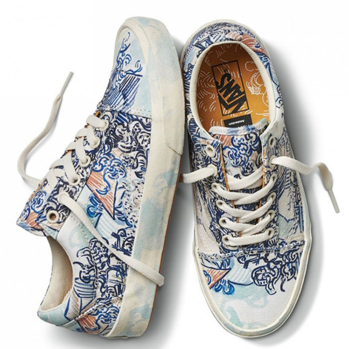 vans van gogh-inspired shoes