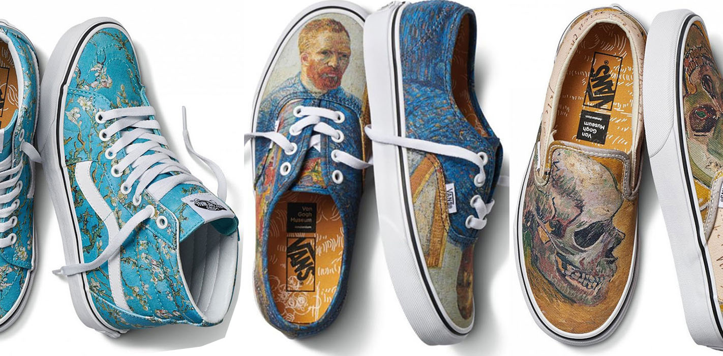 Vans Has A Vincent Van Gogh Inspired Fashion Collection