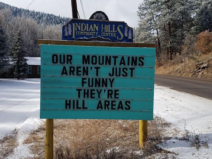 vince rozmiarek funny road signs puns