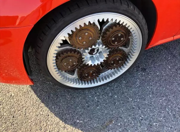 wheel gears awful taste perfect execution