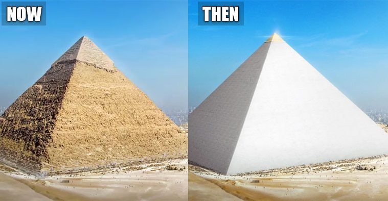 wonders of the world now and then