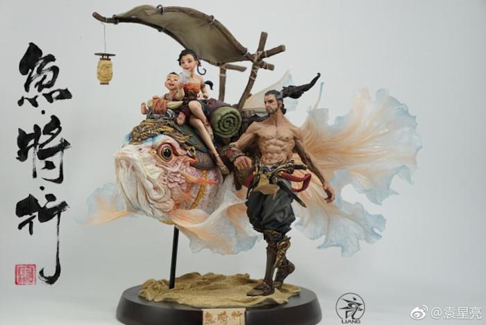 yuanxing liang fantastical miniature sculpture