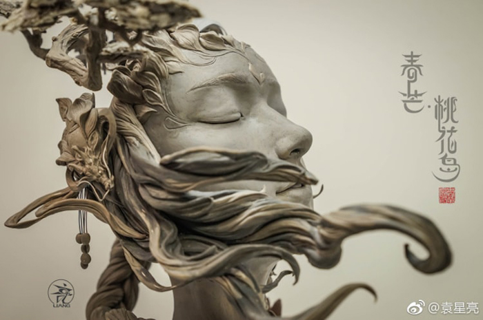 yuanxing liang surreal sculpture