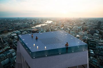 360-degree infinity pool london