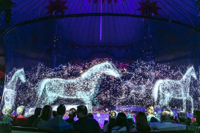 3d holograhic show circus roncalli