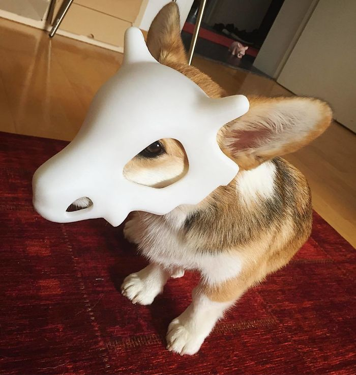 3d printing brilliant creations cubone mask