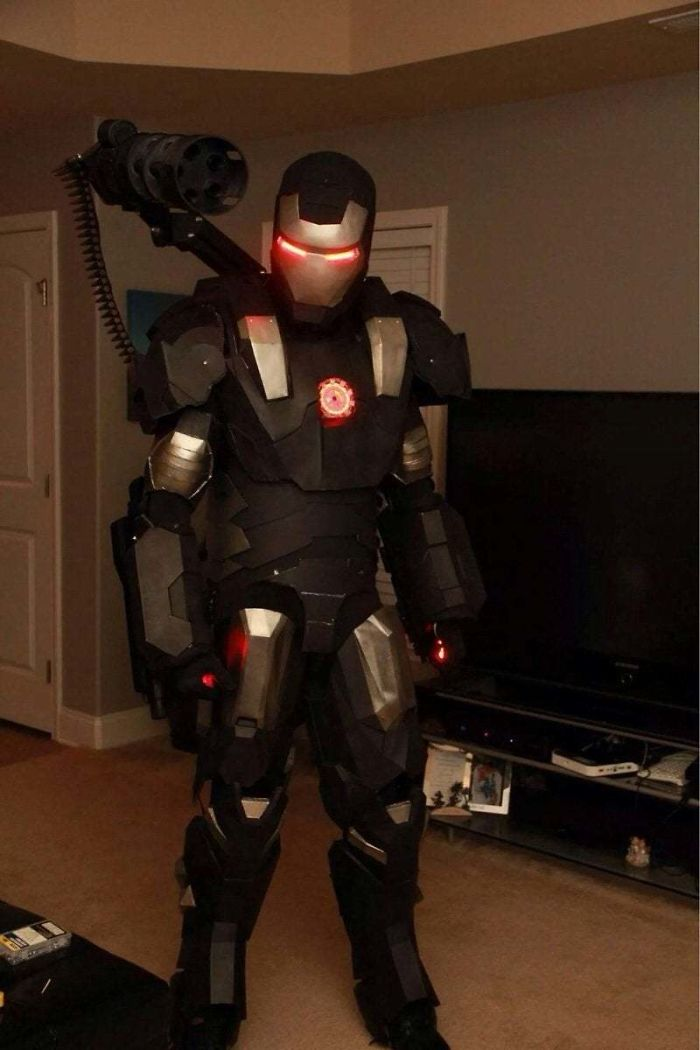3d printing brilliant creations ironman costume