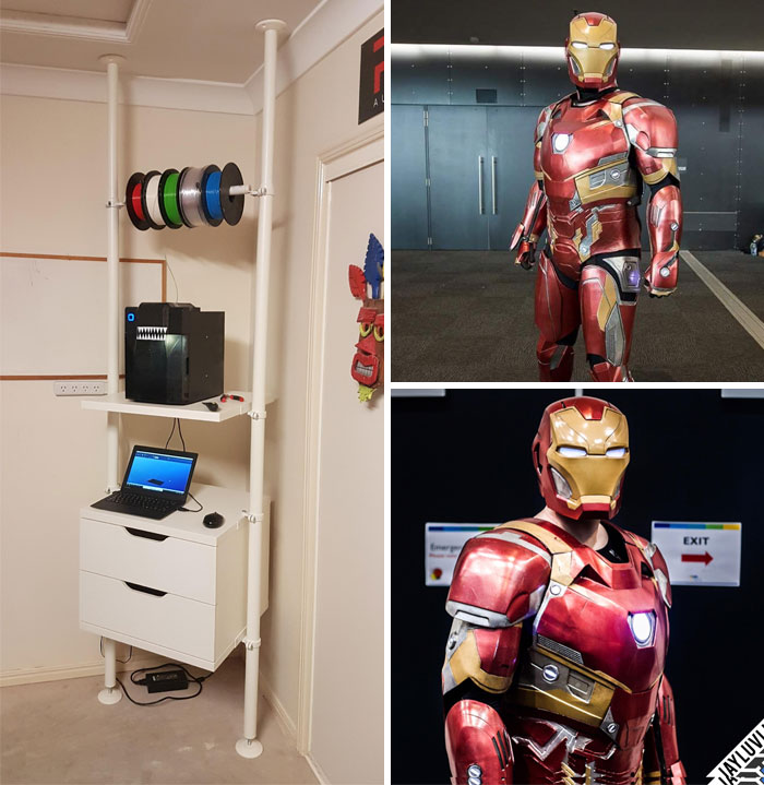 3d printing brilliant creations ironman