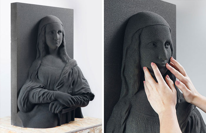 3d printing brilliant creations mona lisa painting