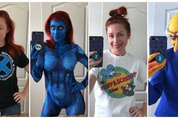 Brenna Mazzoni cosplay