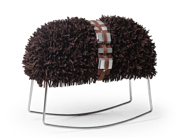 Chewie Rocking Stool star wars furniture