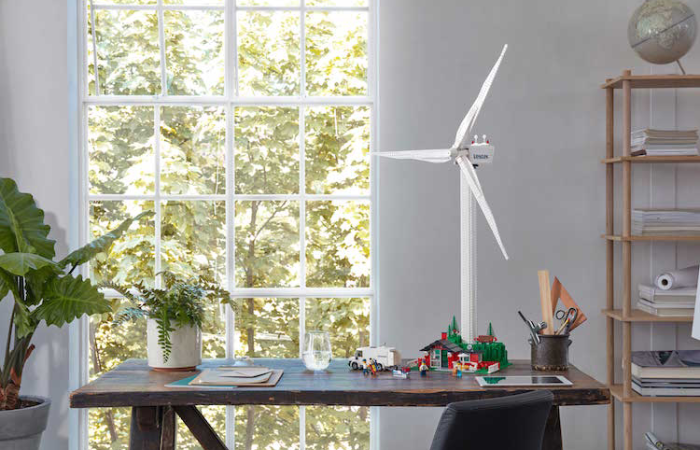 LEGO wind turbine kit