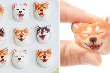 Shiba Inu Marshmallows