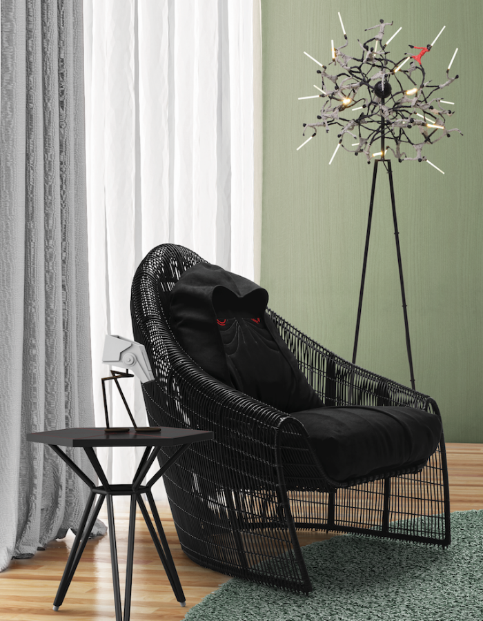 Sidious Easy Armchair star wars furniture