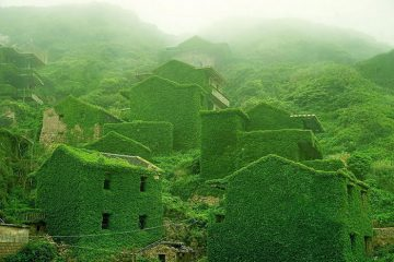 abandoned fishing village houtouwan china