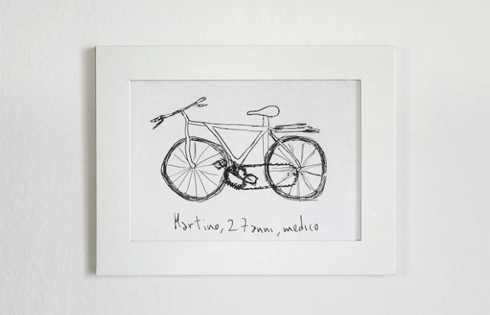 amateur sketch gianluca gimini velocipedia bicycles