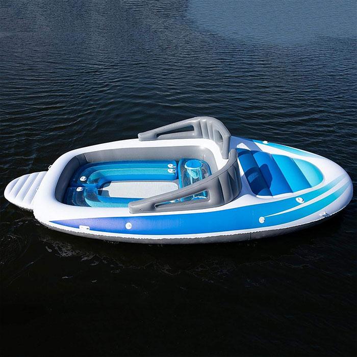 amazon life-size inflatable speedboat