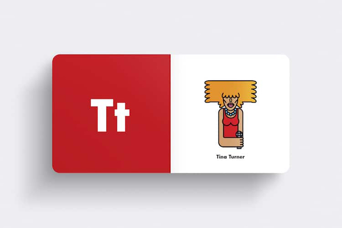 andrew morgan rock alphabet book tina turner
