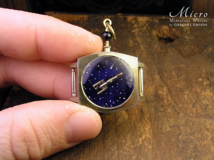 astronomy in miniature worlds inside pocket watches and pendants
