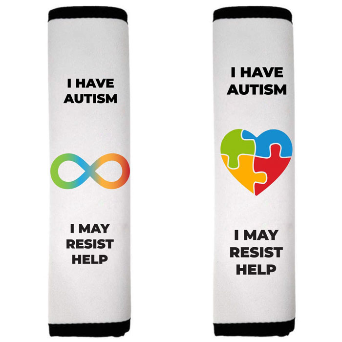 autism children health issues emergency seat belt covers natalie bell