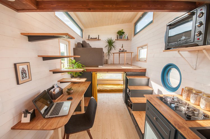 baluchon tiny house valhalla interior