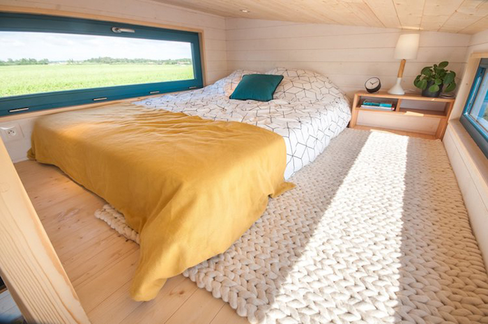baluchon tiny house valhalla lofted bed