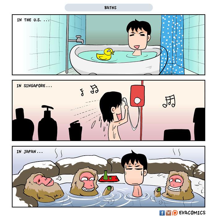 baths comics japan cultural differences by evacomics