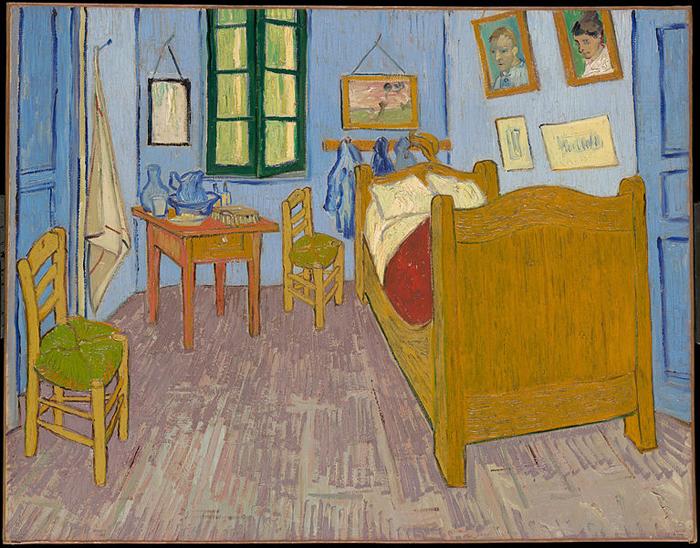 bedroom in arles vincent van gogh