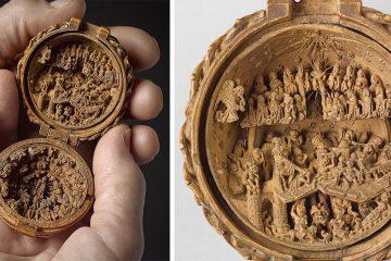 biblical boxwood carvings