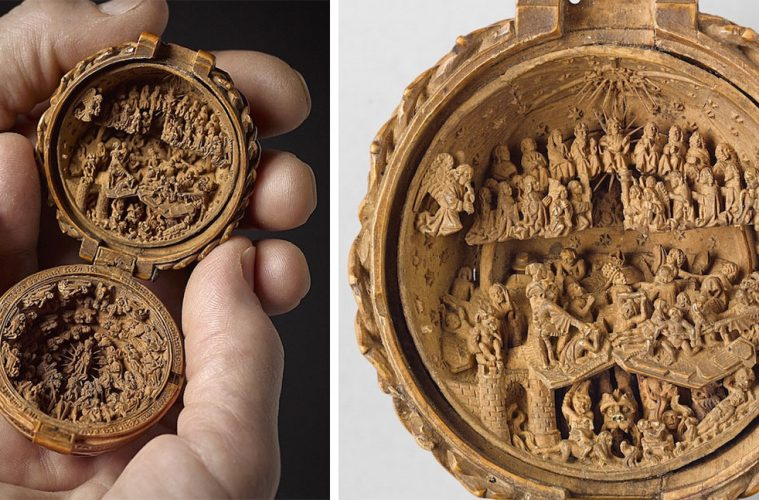 biblical boxwood carvings