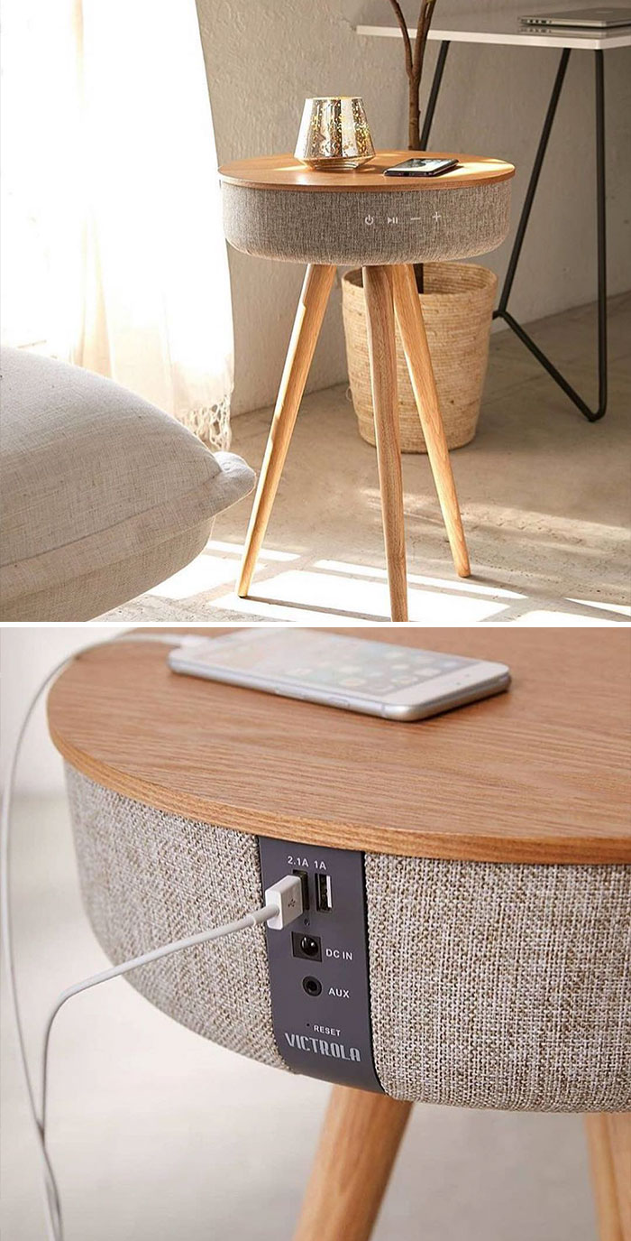 bluetooth speaker table unique furniture designs