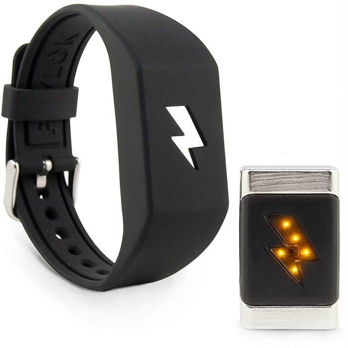 bracelet shock fast food spending money pavlok