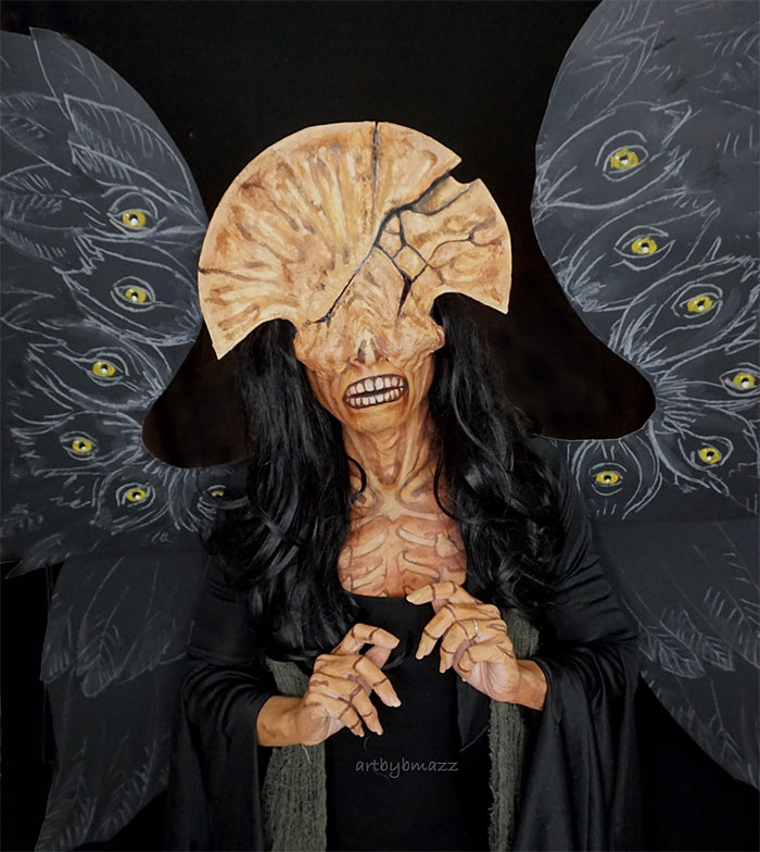 brenna mazzoni cosplay angel of death hellboy