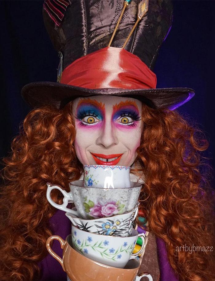 brenna mazzoni cosplay mad hatter