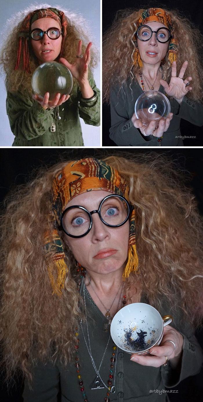 brenna mazzoni cosplay sybill trelawney