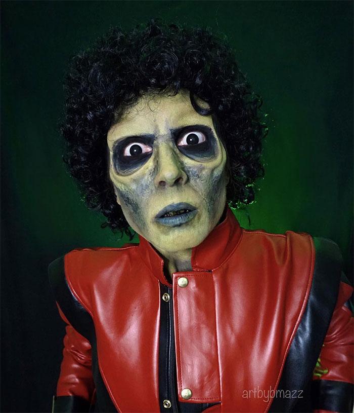 brenna mazzoni cosplay thriller michael jackson