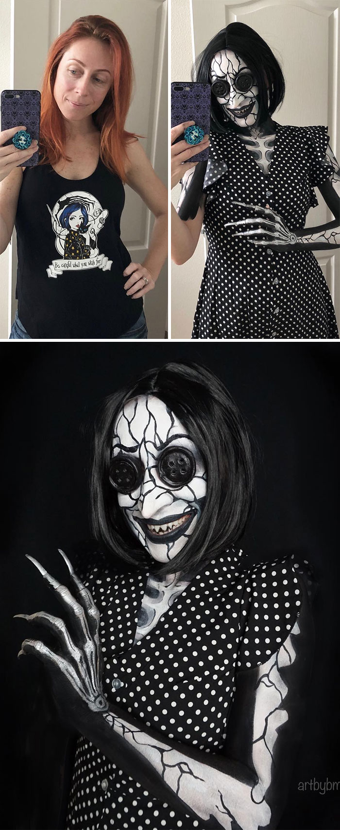 brenna mazzoni epic cosplay transformations beldam