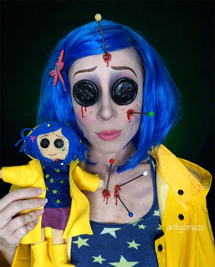 brenna mazzoni epic cosplay transformations coraline