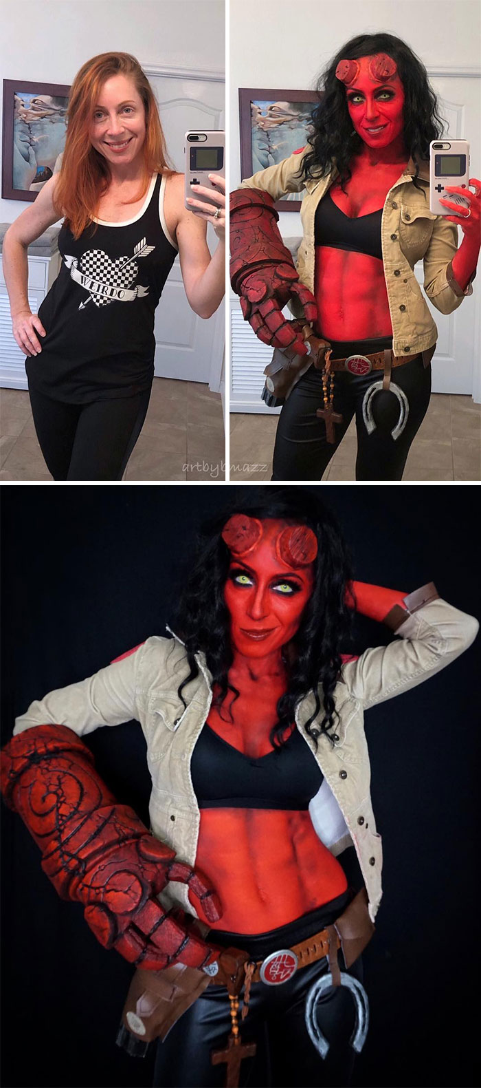 brenna mazzoni epic cosplay transformations hellgirl