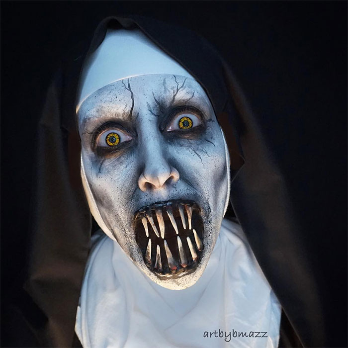 brenna mazzoni epic cosplay transformations valak