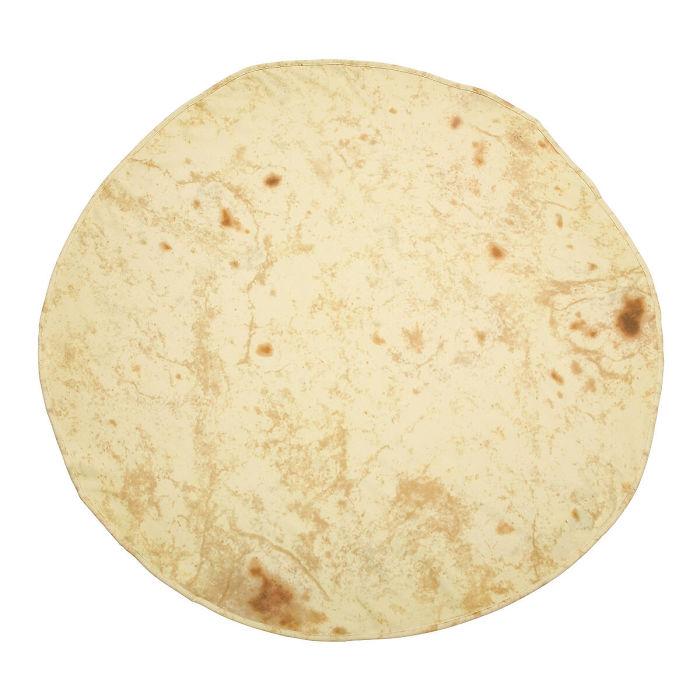 burrito tortilla baby blanket