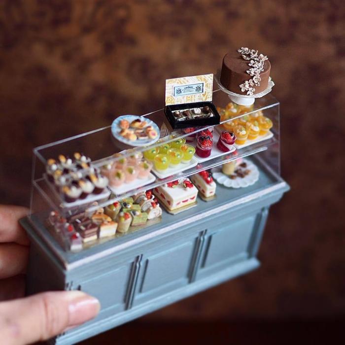 cakes handmade miniatures kiyomi chiisana shiawase