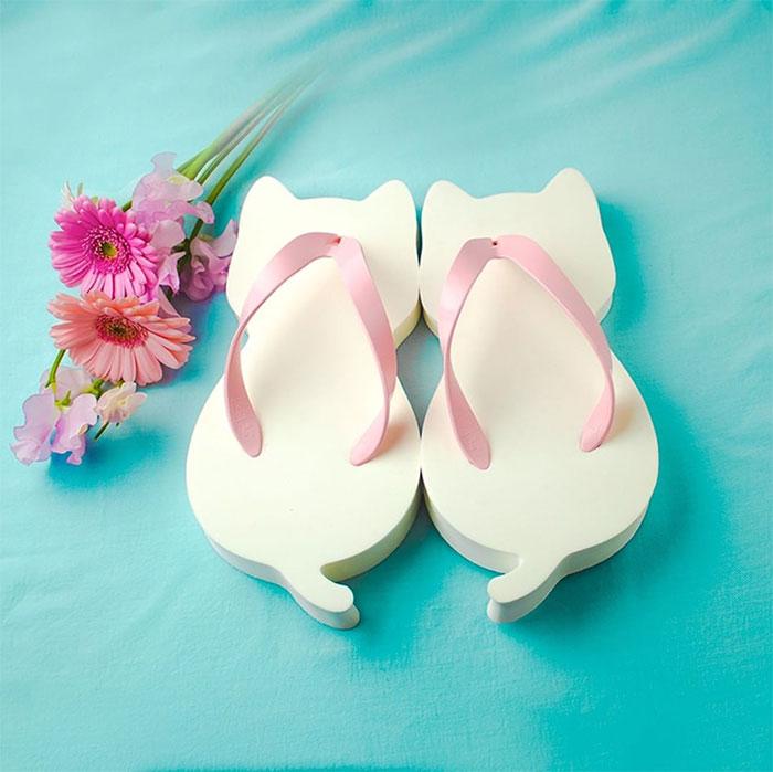 cat-shaped sandals soft eva