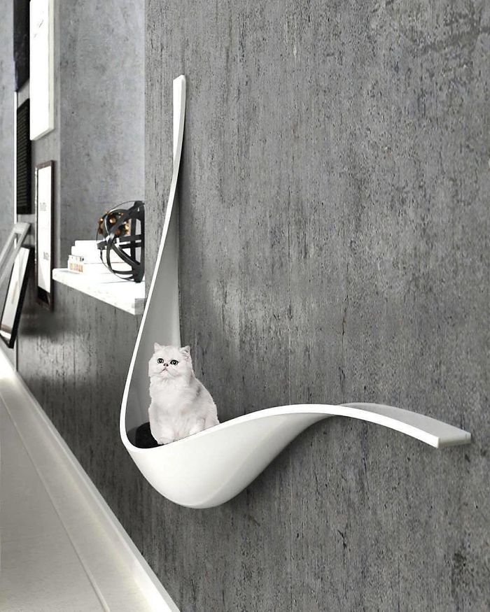 cat wall lounge unique furniture designs