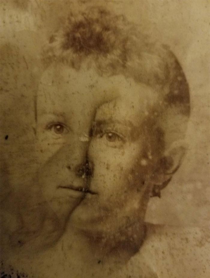 child ancestor destroyed photoshop photo restoration michelle spalding