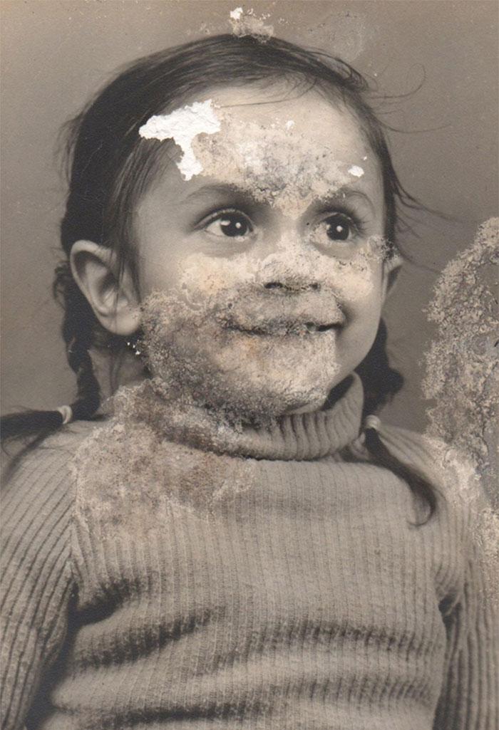child destroyed photoshop photo restoration michelle spalding