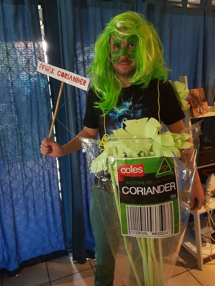 coriander haters funny memes cosplay