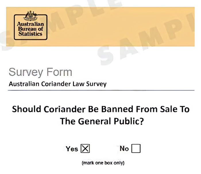 coriander haters funny memes survey