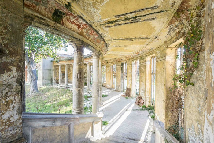 deserted heritage places