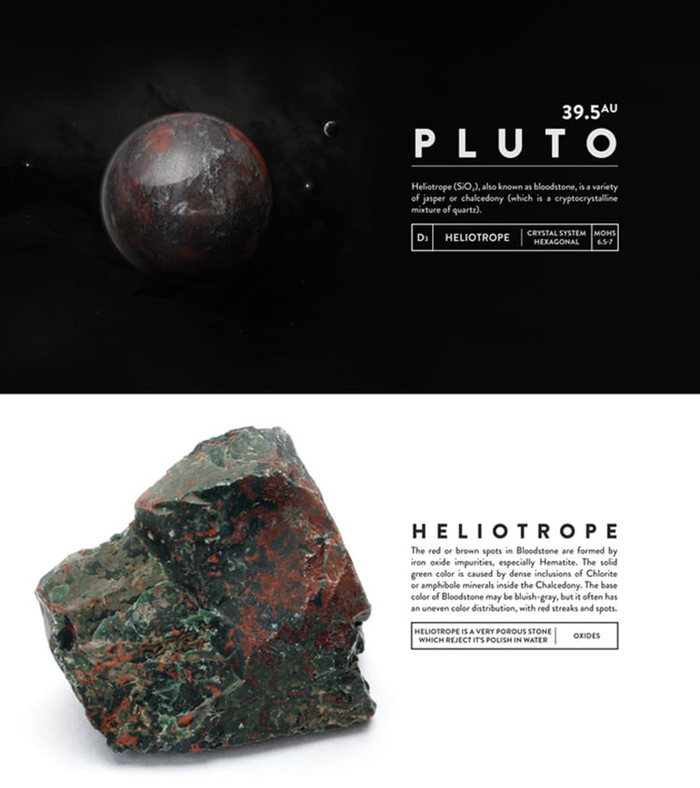 deskspace desk accessory earth pluto heliotrope